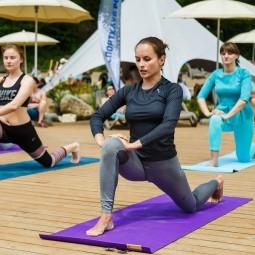 Международный день йоги на «Роза Хутор» 2019