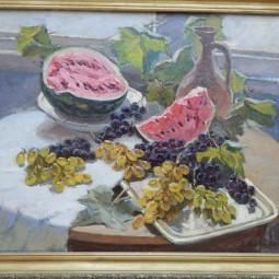 Выставка восстановленных картин Леонида Лучевского