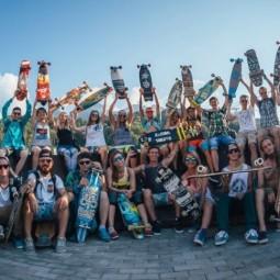 Chill & Hill Longboard Camp на «Роза Хутор» 2017