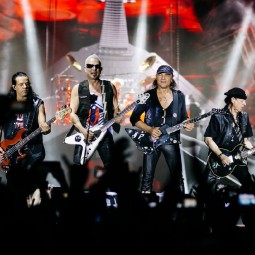 Концерт группы Scorpions 2017
