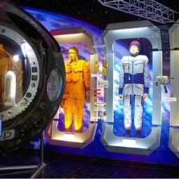 Выставка «Космонавты в Сочи»