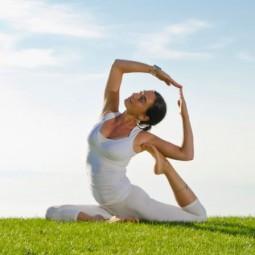 Международный день йоги в парке «Ривьера» 2019