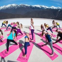 Международный день йоги на «Роза Хутор» 2017