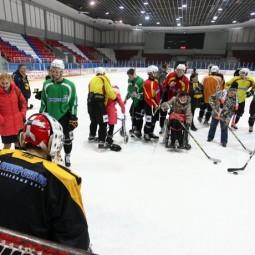 Мастер-класс по хоккею в ЛД «Айсберг» 2017