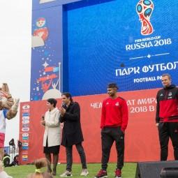 Горный парк футбола на «Роза Хутор» 2018
