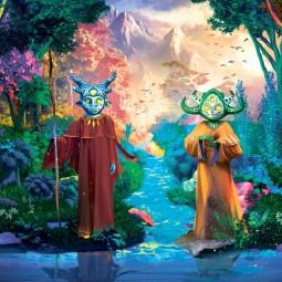 Выставка на открытом воздухе «Сад Света. Легенда о друидах»