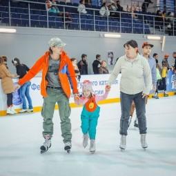 Катания на коньках в Олимпийском Парке 2017