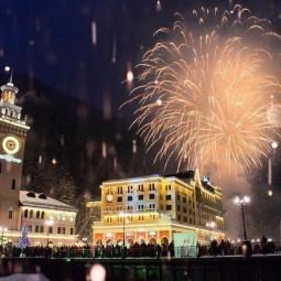 Праздничная программа на курорте «Роза Хутор» 2020/2021