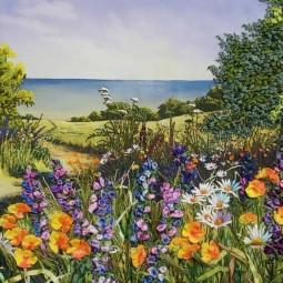 Выставка «Цветы и ленты»