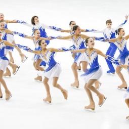 Соревнования по синхронному фигурному катанию на коньках 2018