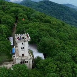 Открытие Смотровой башни на горе Ахун 2020