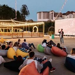 Кинотеатр в горах на курорте «Роза Хутор»