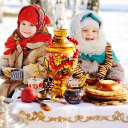 Масленичные гулянья на курорте «Газпром» 2019