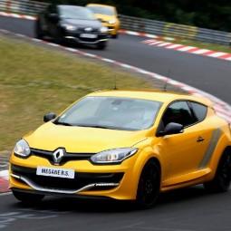 Мастер-класс с инструктором на Renault Megan RS 2017