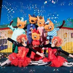 Детский спектакль «Три кота» 2019