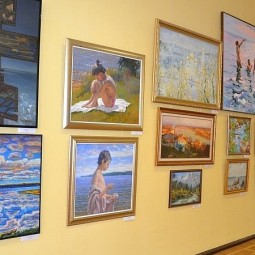 Выставка «Художники России – за чистую воду»
