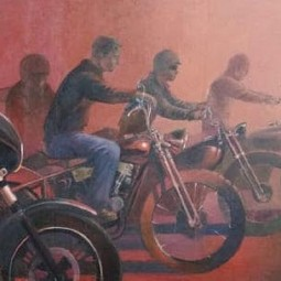 Выставка Ксении Кокориной «Что-то про мото»
