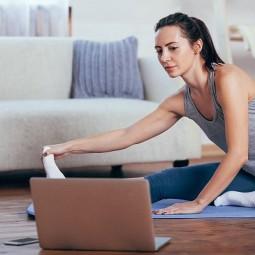 Спортивные онлайн-тренировки