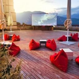 Кинотеатр в горах на курорте «Красная Поляна» 2020