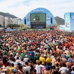Фестиваль болельщиков FIFA в Сочи 2018