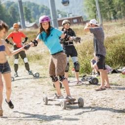 Маунтинборд лагерь на курорте «Роза Хутор» 2017