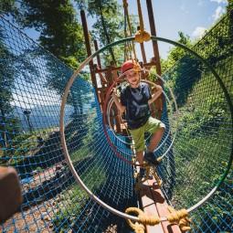 Горная зона веревочного городка «Йети Джунгли» 2020