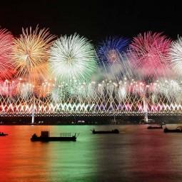 «Парад фейерверков» в Олимпийском парке 2021