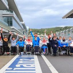 Третий Международный полумарафон на колясках 2017