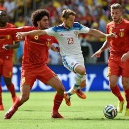 Футбольный матч «Россия» — «Бельгия» 2017