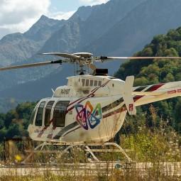 Пассажирский горный «Вертолетный центр» на курорте «Роза Хутор» 2020