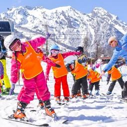 Мастер-классы по горным лыжам для детей 2019