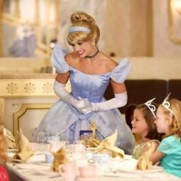 Чаепитие Принцесс в Сочи Парке 2017