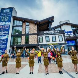 День победы на курорте «Газпром» 2018