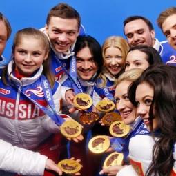 Выступление сборной команды России по фигурному катанию на коньках 2017