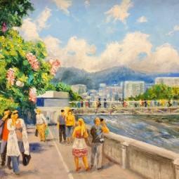 Выставка «Город солнца и цветов»