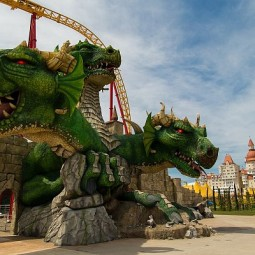 День рождения Змея Горыныча в Сочи Парке 2019