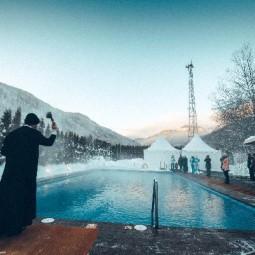 Крещенские купания на курорте «Газпром» 2020