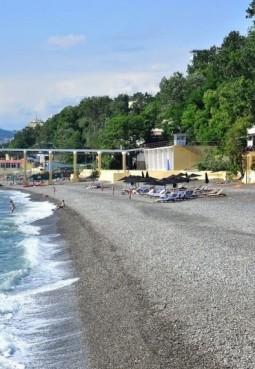 Пляж санатория «Искра»