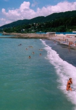 Пляж санатория «Фазотрон»