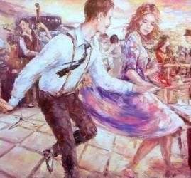 Выставка картин Евгения Баранова «Живопись танца»