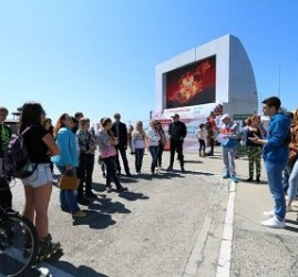 Квест городского ориентирования в честь 72-летия Великой Победы