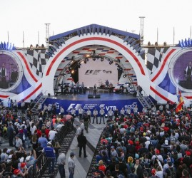Развлекательная программа на гонках «Формула-1» 2018