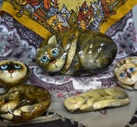 Выставка «Разноцветные коты — воплощение мечты»