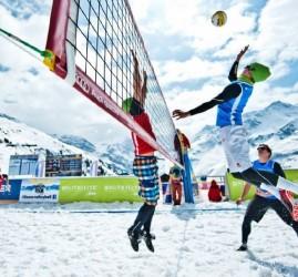 Чемпионат по волейболу на снегу 2020