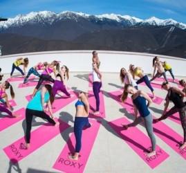 Международный день йоги на «Роза Хутор» 2018