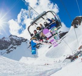 Открытие горнолыжного сезона на курорте «Красная Поляна» 2019/20