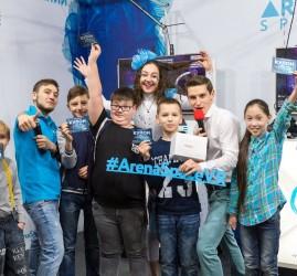 Открытие парка виртуальной реальности ARena Space