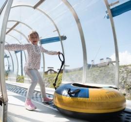 Аттракционы на курорте «Газпром» 2020