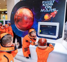 Выставка «Первые дети на Марсе»