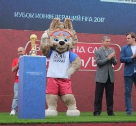 Парк футбола на Южном молу 2018